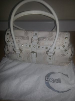 Just  CAVALLI SIGNATURE FABRIC LEDER SCHULTERTASCHE HANDBAG PURSE