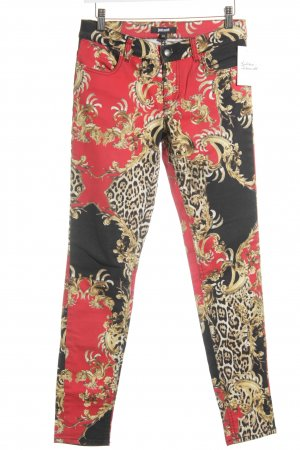 Just cavalli Skinny jeans abstract patroon casual uitstraling