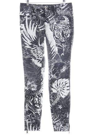 Just cavalli Skinny Jeans Allover-Druck extravaganter Stil