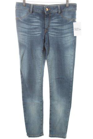 Just cavalli Skinny Jeans blau Washed-Optik Mischgewebe