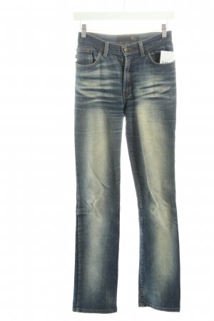 Just cavalli Slim Jeans blau Street-Fashion-Look