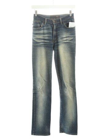 Just cavalli Slim Jeans blau Street-Fashion-Look
