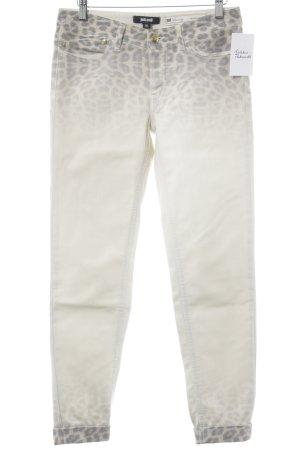 Just cavalli Jeans slim fit Stampa leopardata stile casual