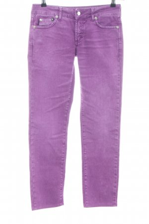 Just cavalli Slim Jeans lila Casual-Look