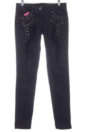 Just cavalli Jeans slim fit nero stile casual