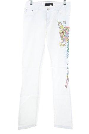 Just cavalli Slim Jeans weiß Casual-Look