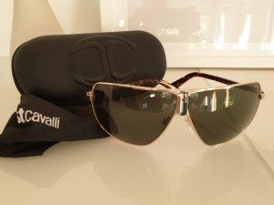Just cavalli Angular Shaped Sunglasses brown-khaki