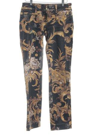 Just cavalli Straight-Leg Jeans Allover-Druck 80ies-Stil