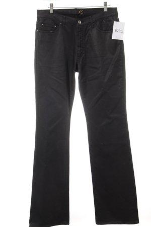 Just cavalli Straight-Leg Jeans schwarz Casual-Look