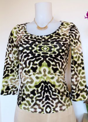 Just Cavalli Stretch Shirt, Gr. S