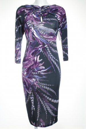 Just cavalli Stretchkleid florales Muster Street-Fashion-Look