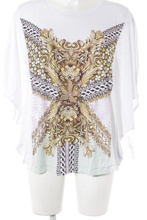 Just cavalli T-Shirt Blumenmuster extravaganter Stil