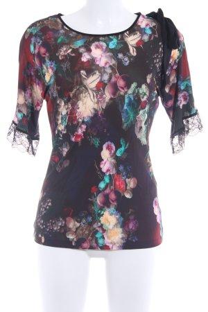 Just cavalli T-Shirt florales Muster Romantik-Look