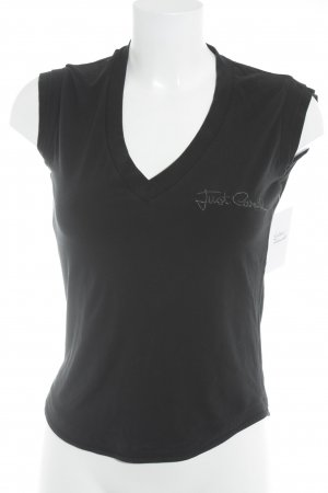 Just cavalli T-Shirt schwarz Casual-Look