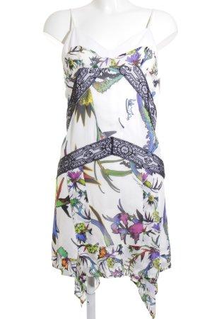 Just cavalli Trägerkleid florales Muster extravaganter Stil