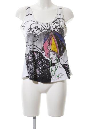 Just cavalli Trägertop abstraktes Muster Casual-Look
