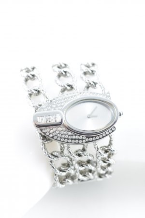 Just cavalli Watch With Metal Strap silver-colored minimalist style