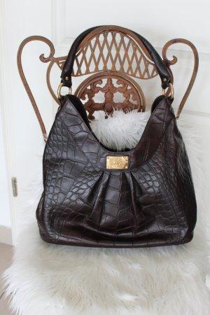 f3270bb8e08fc Just Cavalli Vintage Handtasche Tasche Designer Leder Braun