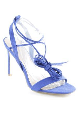 Just Fab High Heel Sandaletten blau Elegant