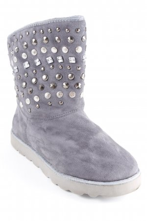 Just Fab Snowboots grau Casual-Look