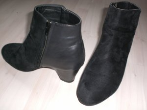 Just Fab Stiefelette - Materialmix - schwarz - Gr. 39
