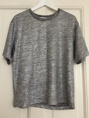 Just Fab T-Shirt Silber - S