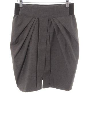 Just Female Faltenrock dunkelgrau-schwarz klassischer Stil