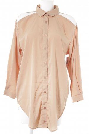 Just Female Hemd-Bluse apricot Casual-Look