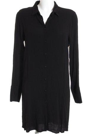 Just Female Hemdblusenkleid schwarz schlichter Stil