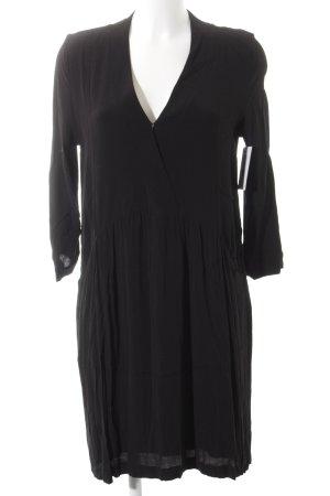Just Female Langarmkleid schwarz schlichter Stil