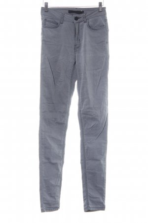 Just Female Skinny Jeans hellgrau-grau Farbverlauf Casual-Look