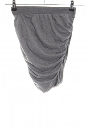 Just Female Stretch Skirt light grey flecked casual look