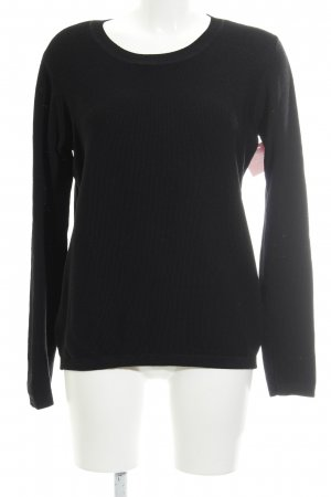 Just Female Strickpullover schwarz Casual-Look