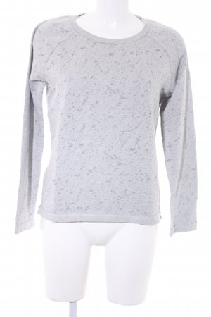 Just Female Sweatshirt hellgrau Mustermix Casual-Look