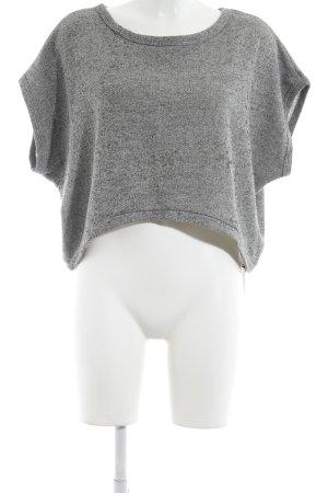 Just Female T-Shirt grau meliert Casual-Look