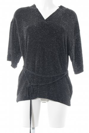 Just Female V-hals shirt zwart elegant