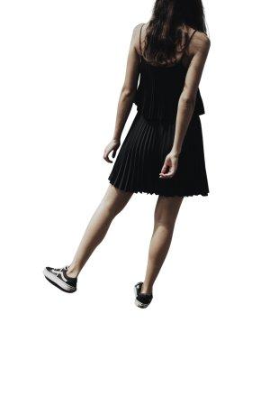 Just Ginger Vestido tipo overol negro look Street-Style