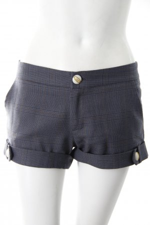 Just Johnson Shorts grau gemustert
