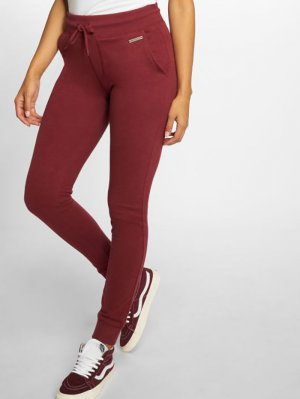 Jegging rouge coton