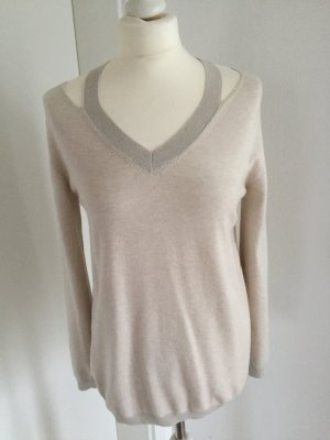 Just Woman Pullover Gr. M sand