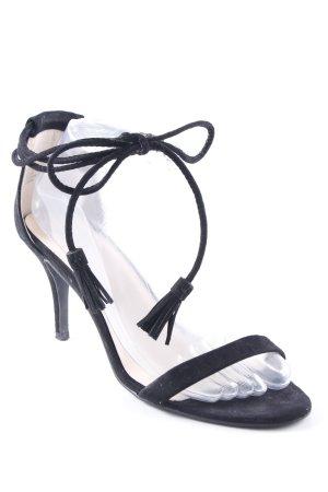 JustFab High Heel Sandaletten schwarz Elegant