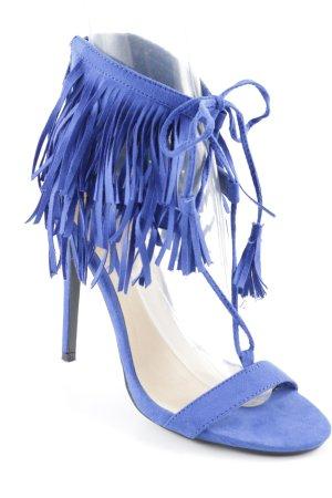 JustFab High Heels blau Elegant