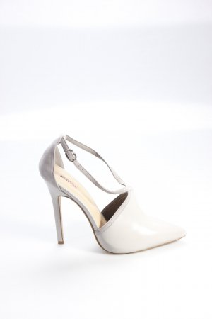 JustFab High Heels grau