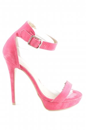 Plateau Look Sandaletten Pink Justfab Party JlKcTF13