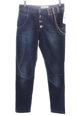 Justor Skinny Jeans dunkelblau Casual-Look