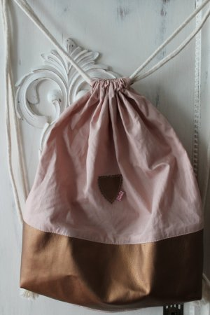 Canvas Bag pink-camel