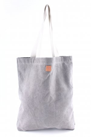 Burlap Bag grey-natural white simple style