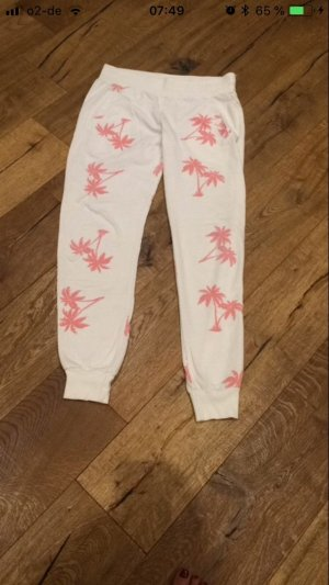 Juvia Sweat Pants white-pink