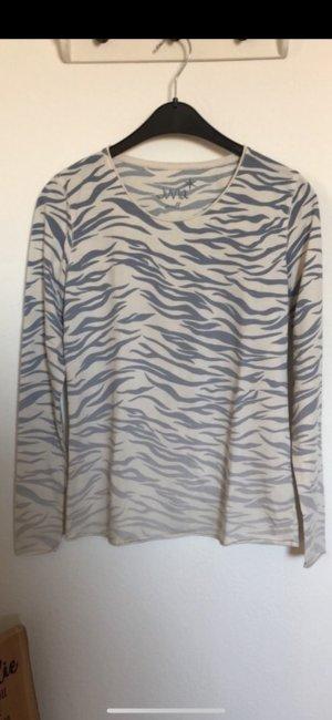 Juvia Maglione bianco sporco-azzurro