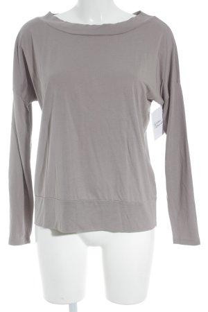 Juvia Longsleeve grauviolett schlichter Stil